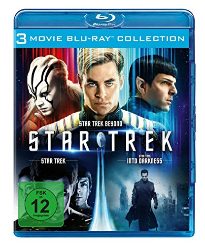 STAR TREK - Three Movie Collection [Blu-ray]