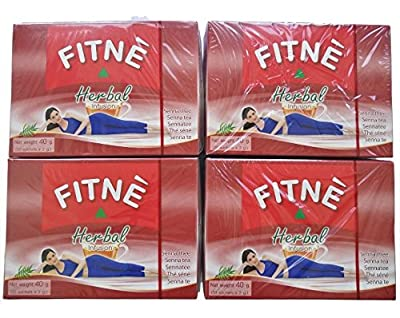 Fitne Rouge Herbal Infusion Lot de 4 boîtes = 160g