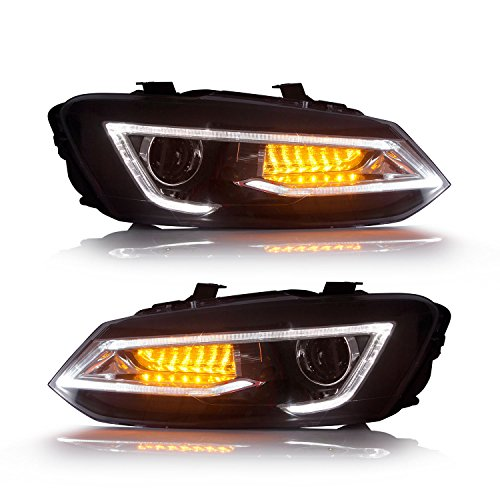 New Useka LED faro per Polo 6R MK5 2011 – 2017 LED fari RHD/Lhd