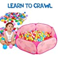 Skl Play Tentbaby Kids Playpen Ball Pit Pool Indoor And Outdoor With Toddler Children Toys For Kids Gifts from SKL