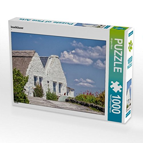 Inselhäuser 1000 Teile Puzzle quer: Aran Inseln (CALVENDO Natur)