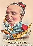 Vintage, Kleidung und Zubehör Kleidung von Myers & Heim, Amerika, 1881. 250gsm, Hochglanz, glänzend, A3, vervielfältigtes Poster