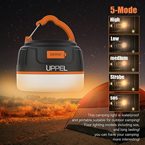 2-In-1 Rechargeable Camping Lantern & 5200 mAh Power Bank Milool Ultral Bright Magnetic Portable LED Camping Light Hook 3.7 V Rechargeable Built-in Battery Provide for Outdoor,Waterproof, Camping, Tent, Hiking, Fishing, Traveling, Adventures