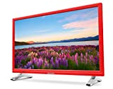 Medion Life P12501 MD 21501 54,6 cm (21,5 Zoll Full HD) Fernseher (LCD-TV mit LED-Backlight, Triple Tuner, DVB-T2 HD, HDMI, CI+, integrierter DVD-Player und Medienplayer) rot Vergleich