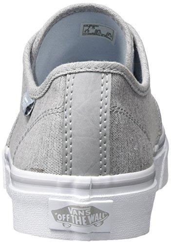 Vans Camden Stripe, Chaussures de Running Femme Gris (Menswear)