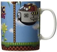 460 ml  King Size  Sonic The Hedgehog Mug Green Hill