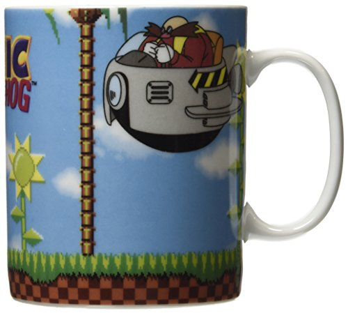 Price comparison product image 460 ml King Size Sonic The Hedgehog Mug Green Hill