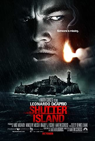 SHUTTER ISLAND MOVIE POSTER PRINT APPROX SIZE 12X8 INCHES by 12X8 INCHES