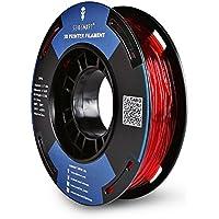 SainSmart Kleine Bobina 1.75mm TPU flexible 3d filamento 250g, métrica, precisión +/-0,05mm, Shore 95a, color rojo