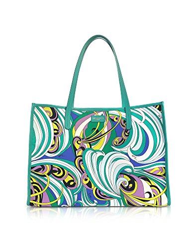 Emilio Pucci Damen 82Bc5582160s31 Multicolour Polyester Tote (Emilio Pucci Damen Handtaschen)