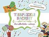 Tierpuzzle Backset: Zum Selberbacken - und essen