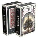 Bicycle Kingdoms (Red) Playing Cards, Cool Collectable Cards, Custom Design Decks, Cards For Magicians, Designer Deck