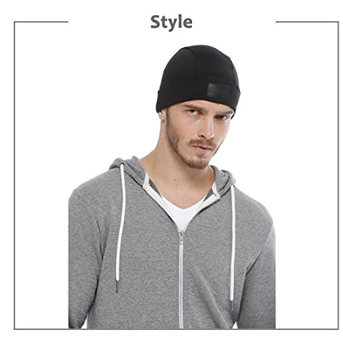 c0e7c93cb Skull Cap, Aegend Warm and Soft Helmet Liner Ultimate Thermal Retention  Running Beanie with Ear Covers for Men Women Youth Lightweight Windproof  Hat ...