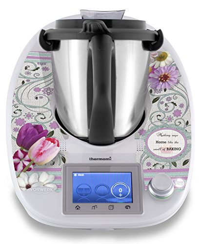 Adesivo Bimby Thermomix stickerdream con motivo 'Country', adattabile con diverse scritte, Made in Germany (TM5)