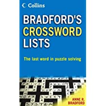 Collins Bradford's Crossword Lists