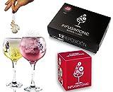 Infugintonic - Caso di Sostituzione - Gin & Tonic Infusi Naturali per Ginevra, Rum e Vodka - 12 unità (Pasión Afrodisíaca)