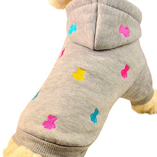 Natural Home(TM) Hundepullover Hoodie Mantel in vier Farben erhältlich (L)