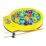 Color Baby-43307 Juego de Pesca eléctrico Go Fishing,, 32 x 8 x 28 cm...