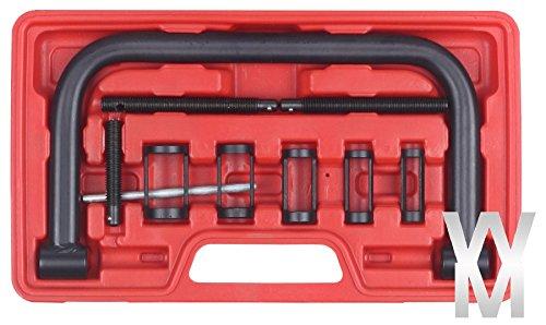 Kit 10 pièces outils voiture moto compresseur ressort soupape embout