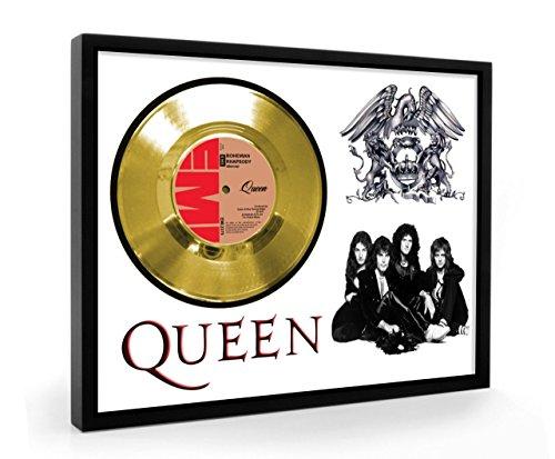 Queen Bohemain Rhapsody Framed Disco de Oro Display Vinyl (C1)