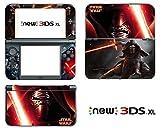 Vanknight Vinyl-Aufkleber für Nintendo 3DS XL 2015 Kylo Ren