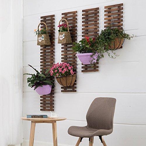Gartendekoration lackiertem Holz,