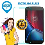 MOTO G4 PLUS / G4+ Premium Tempered Glass Screen Protector Guard With FREE Installation Kit