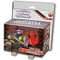 Fantasy Flight Games- SW Imperial Assault - Sabine WREN y Zeb Orellios - Español, (SWI56ES)