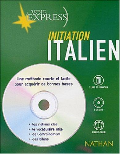Italien : Initiation (2 livres + 1 CD audio)