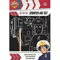Fireman Sam Scratch Art Set