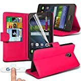Gadget Giant Huawei Y635 Leather Wallet Flip Case Cover