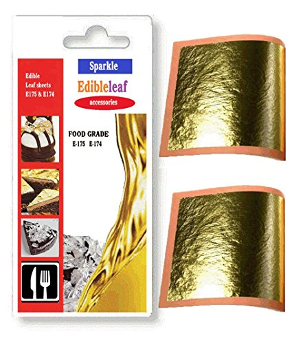 e175-edible-24ct-genuine-10-sheets-gold-leaf-30mm-x-30mm-edible