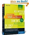 Einstieg in VBA mit Excel: Für Micros...