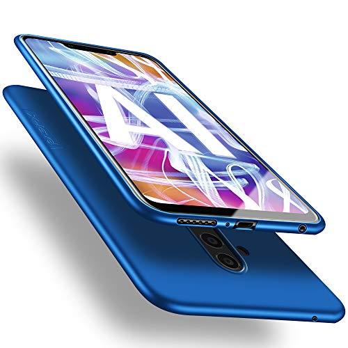 X-level Huawei Mate 20 Lite Hülle, [Guardian Serie] Soft Flex Silikon Premium TPU Echtes Telefongefühl Handyhülle Schutzhülle für Huawei Mate 20 Lite Case Cover - Blau