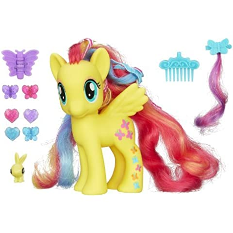 My Little Pony Styling Strands Fashion Pony Fluttershy Figure, 6-Inch by My Little Pony