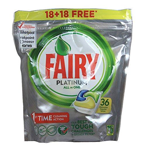 fairy spuelmaschinentabs Fairy Geschirrspüler Tabs Platinum 18+ 18CAPSULAS kostenlos.