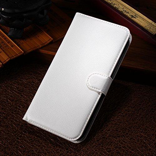 Manyip Téléphone Coque - PU Cuir rabat Wallet Housse [Porte-cartes] multi-Usage Case Coque pour pour Alcatel One Touch POP S9 OT7050K Classique Mode affaires Style(JFC3-4) D