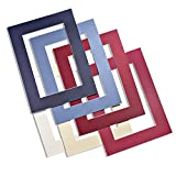 Premium Passepartout nach Farbe und Größe auswählen (30x40, F12 Reinweiß)