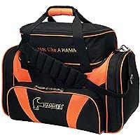 Hammer Premium Deluxe Doble Bolsa Bolsa de Bolos, Color Negro/Naranja, tamaño Talla única
