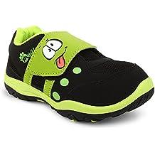 MYAU Kid's Boys Girls Smiley Printed Soft Comfortable Casual Shoes