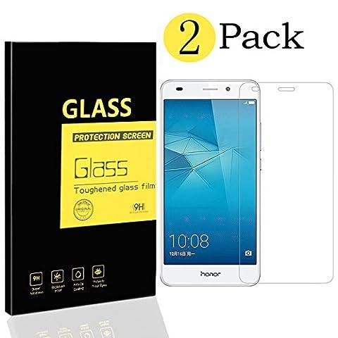 Film De Protection En Verre Trempe Pour Honor 7 - [2-Pack] Film Protection Écran Huawei Honor 5C