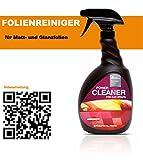 Power Cleaner, Reiniger für matte, satinierte oder glänzende Folien, auch für Komplettfolierungen geeignet