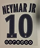Flock Original Paris-Saint Germain Trikot 16cm - Neymar JR 10