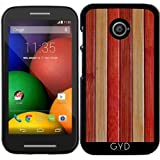 Hülle für Motorola Moto E (Generation 1) - Holz by Warp9