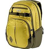 Nitro Chase Rucksack, Schulrucksack mit Organizer, Schoolbag, Daypack mit 17 Zoll Laptopfach,  Golden Mud