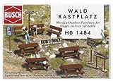 Busch 1484 - Wald-Sitzgarnitur aus Echtholz