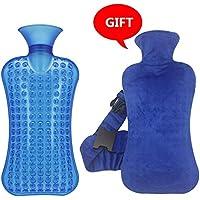 Gummi-Thermoskanne 2 Liter große PVC heiße kalte Wasserflasche Tasche mit Abdeckung Winter zurück Hals Handwärmer... preisvergleich bei billige-tabletten.eu