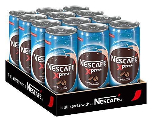 NESCAFÉ Xpress Vanilla, ready to drink Eiskaffee, 12er Pack (12 x 250 ml)