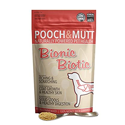 Pooch & Mutt - Health Supplement for Dog Digestion (Healthy Skin, Glossy Coat & Solid Stools) - Bionic Biotic, 200g 4