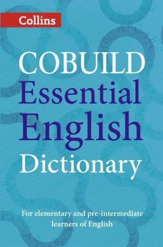 COBUILD Essential English Dictionary (Collins Cobuild dictionaries) by HarperCollins UK (2014-04-01)